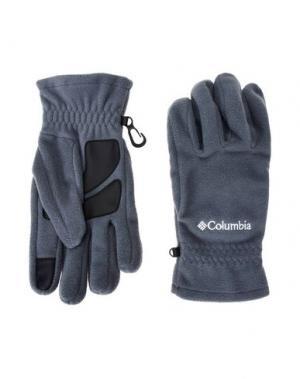 Перчатки COLUMBIA. Цвет: серый