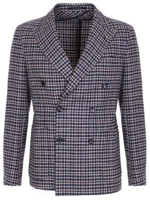 Пиджак из шерсти и шелка TAGLIATORE