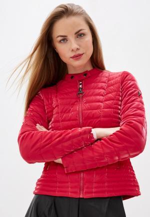 Куртка утепленная Guess Jeans. Цвет: розовый