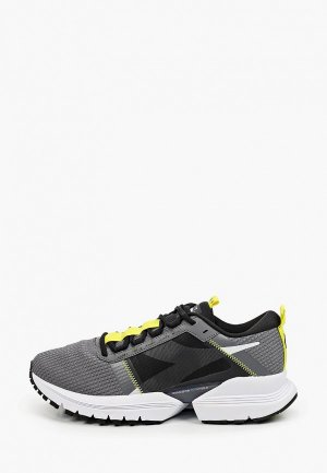 Кроссовки Diadora T1 M - Run High Perf. Цвет: серый