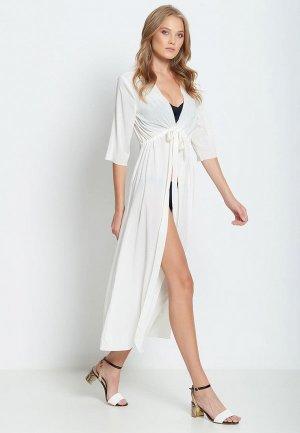 Платье пляжное Donatello Viorano Барбадос. Цвет: белый