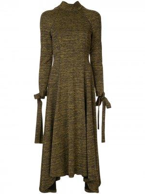 Платье-миди Andrea CAMILLA AND MARC. Цвет: зеленый