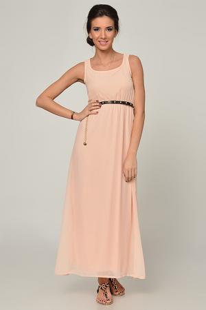 Платье Joins. Цвет: peach
