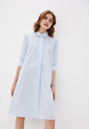 Платье Incity. Цвет: голубой