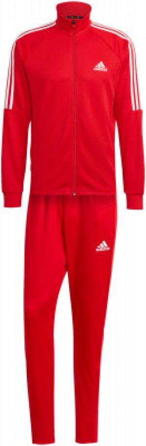 Костюм мужской adidas Sereno, размер 48. Цвет: красный