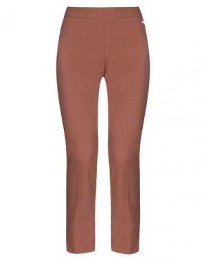 Повседневные брюки CAFèNOIR. Цвет: коричневый