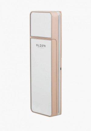 Увлажнитель для кожи Olzori лица, ультразвуковой, портативный, с HD зеркалом макияжа GLamour. Цвет: золотой