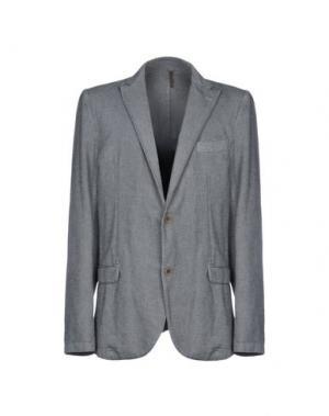 Пиджак ALV ANDARE LONTANO VIAGGIANDO. Цвет: серый