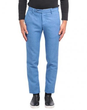 Повседневные брюки BOGLIOLI. Цвет: небесно-голубой