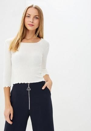 Джемпер Lost Ink SCALLOP SQUARE NECK JUMPER. Цвет: белый