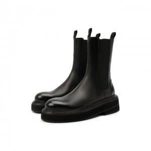Кожаные ботинки Marsell. Цвет: чёрный