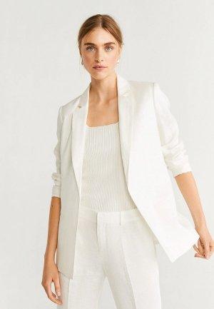 Пиджак Mango - BLANCA-X. Цвет: белый