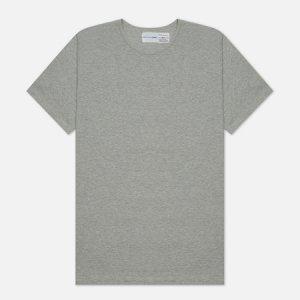 Мужская футболка Forever Classic Crew Neck Comme des Garcons SHIRT. Цвет: серый