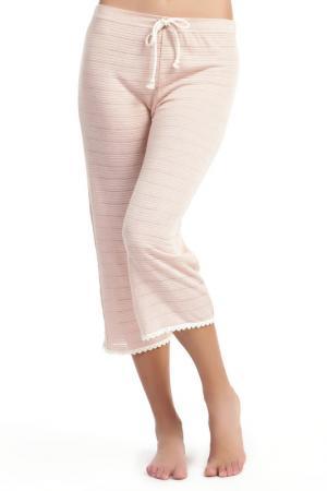 Пижамные штаны Ella Moss. Цвет: бежевый