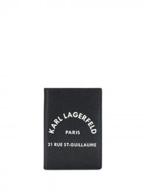 Кошелек Rue St Guillaume Karl Lagerfeld. Цвет: черный