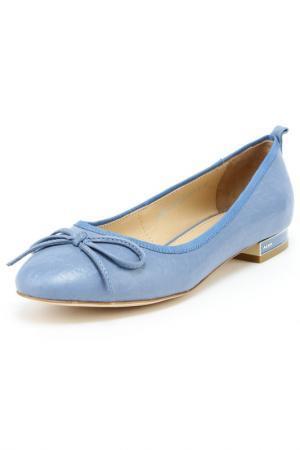 Туфли Alba. Цвет: голубой
