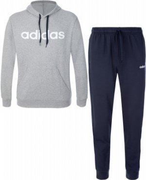 Костюм мужской , размер S Adidas. Цвет: серый