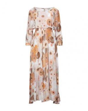 Длинное платье GOSSIP. Цвет: оранжевый