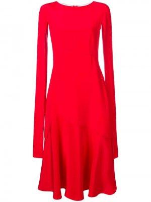 Расклешенное платье с рукавами-кейп Calvin Klein 205W39nyc
