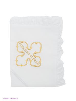 Полотенце-накидка Ангел мой. Цвет: белый