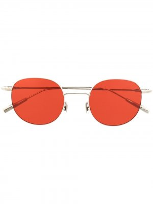 Солнцезащитные очки Karlheinz AMBUSH. Цвет: серебристый