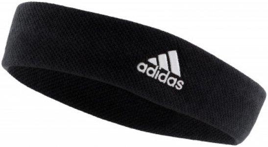 Повязка adidas, размер 58 Adidas. Цвет: черный
