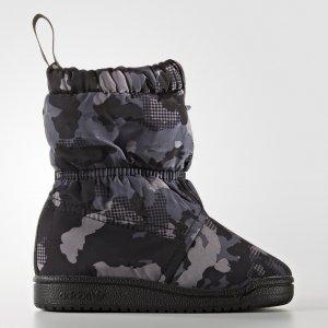 Сапоги Slip-on Originals adidas. Цвет: черный