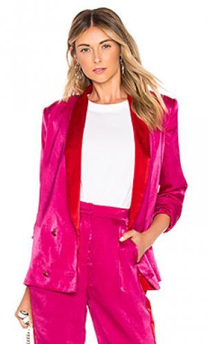Куртка mira House of Harlow 1960. Цвет: розовый