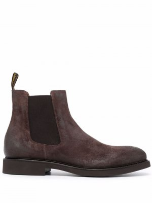 Doucals ботинки с закругленным носком Doucal's. Цвет: коричневый
