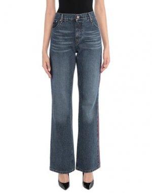 Джинсовые брюки BRUUNS BAZAAR. Цвет: синий