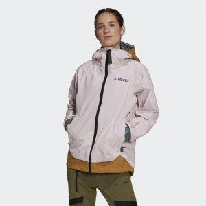 Дождевик Terrex MYSHELTER GORE-TEX Active adidas. Цвет: розовый