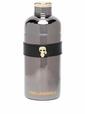 Шейкер с логотипом Karl Lagerfeld. Цвет: серебристый
