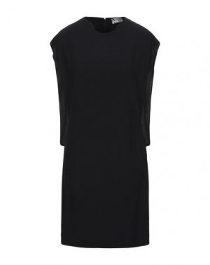 Короткое платье LANVIN. Цвет: черный