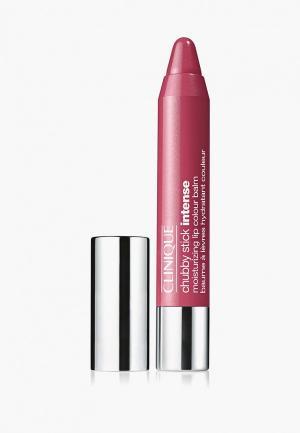 Бальзам для губ Clinique Chubby Stick Intense Moisturizing Lip Colour Balm, 06 Roomiest Rose, 03 гр.. Цвет: розовый