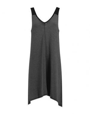 Ночная рубашка DKNY. Цвет: свинцово-серый