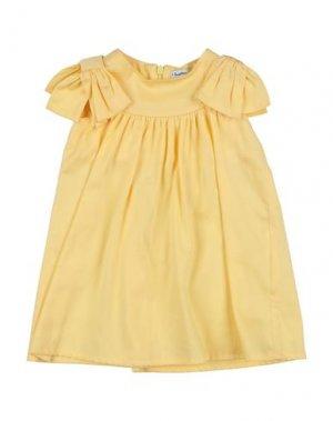 Платье I GIANBURRASCA. Цвет: абрикосовый