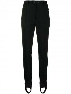 Лыжные брюки с завышенной талией Dsquared2. Цвет: черный