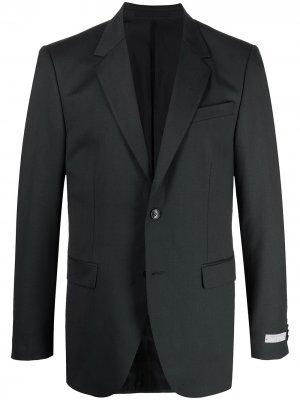 Однобортный пиджак Tiger of Sweden. Цвет: черный