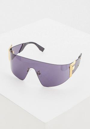 Очки солнцезащитные Fendi FF 0382/S 807. Цвет: черный