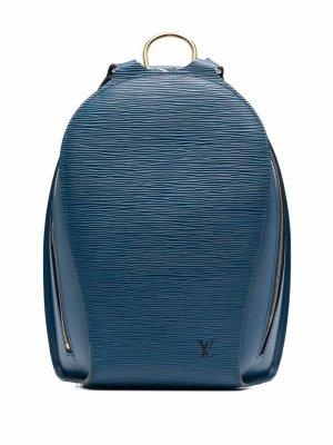 Рюкзак Mabillon pre-owned Louis Vuitton. Цвет: синий