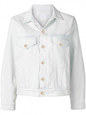Джинсовая куртка Morton GOLDSIGN. Цвет: синий