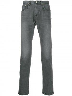 Прямые джинсы Edwin. Цвет: серый