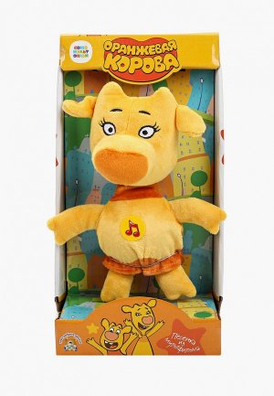 Игрушка интерактивная Мульти-Пульти Зо, 22 см. Цвет: оранжевый