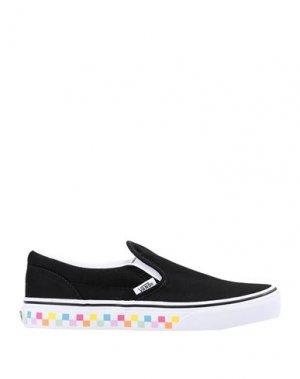 Кеды и кроссовки VANS. Цвет: черный