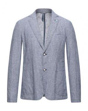 Пиджак SSEINSE. Цвет: грифельно-синий