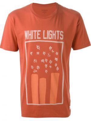 Футболки и жилеты Paul Smith Jeans. Цвет: жёлтый и оранжевый
