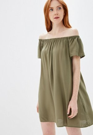 Платье Fresh Made. Цвет: хаки