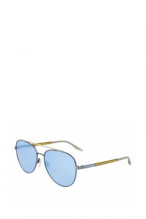 Солнцезащитные очки Converse. Цвет: серебристый