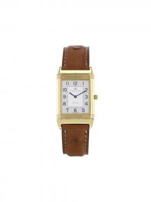 Наручные часы Reverso pre-owned 23 мм 2000-го года Jaeger-LeCoultre. Цвет: серебристый