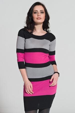 Платье LeMonada. Цвет: розовый